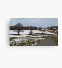 Winter Fairways Canvas Print