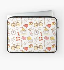 Cartoon traveling elements Laptop Sleeve