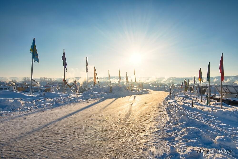 Brightest Star - Standing Rock by Michael Treloar