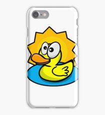 Silly Rubber Ducky iPhone Case/Skin