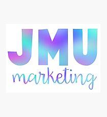 James Madison Marketing Photographic Print
