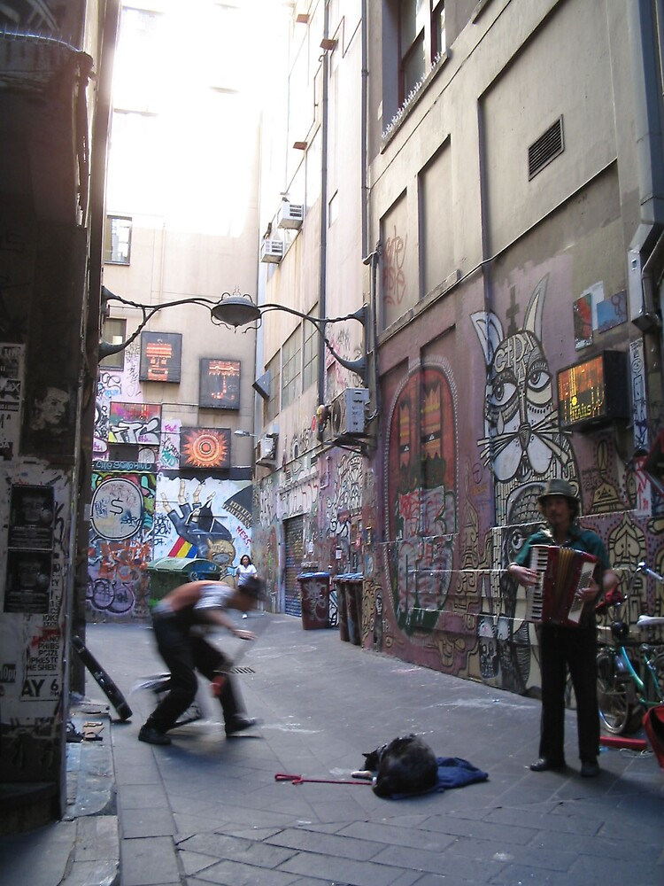 melbourne in motion by Sallyrose