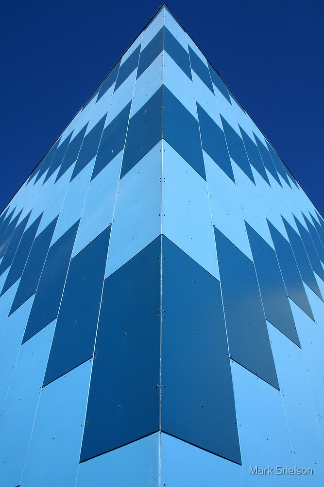 Symmetry in Blue by Mark Snelson