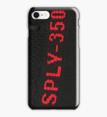 SPLY 350 RED + BLACK iPhone Case/Skin