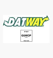 2c10159b237 Datway Guwop Trap God Photographic Print