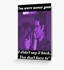 Stydia- You Were Never Gone Greeting Card