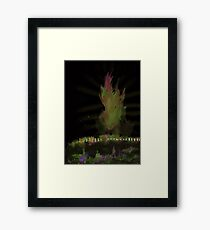 WDV - 389 - Over Fence and Fell Framed Print