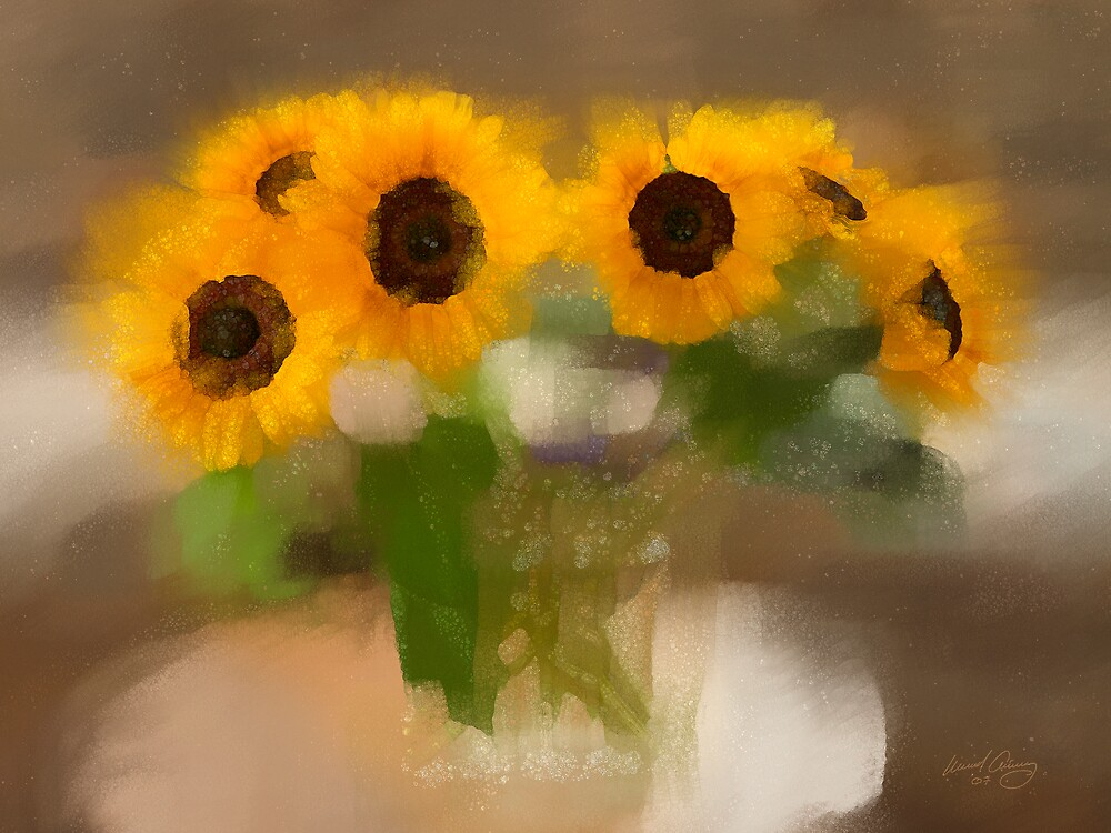 Sunflowers #3 by Michael Critchley
