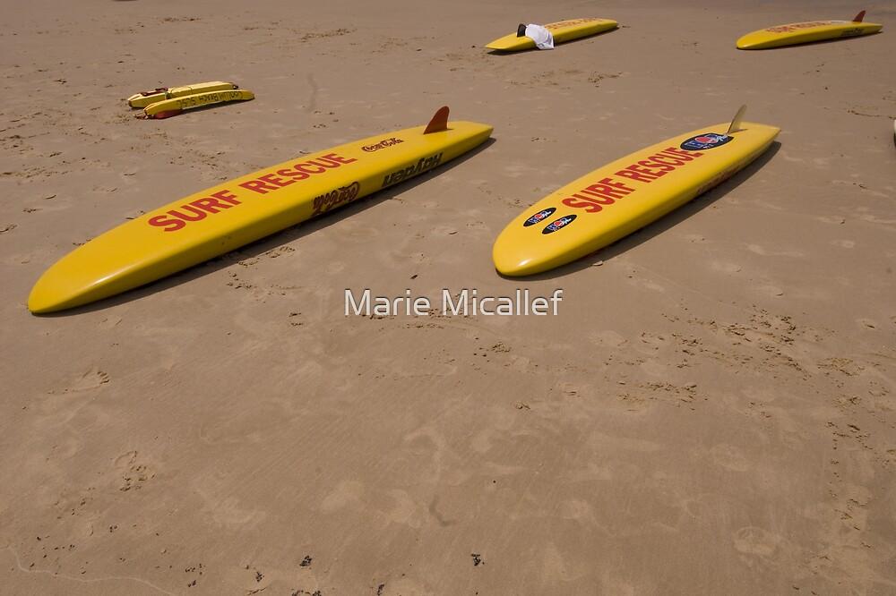 Surf Rescue at Coolum Beach, Sunshine Coast by Shutterbug