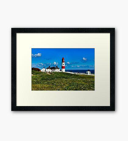 Souter Lighthouse Framed Print