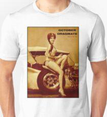DRAG RACING; Vintage Auto Dragmate Print Unisex T-Shirt