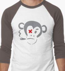 Smoking Monkey - X Men's Baseball ¾ T-Shirt