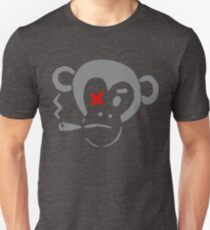 Smoking Monkey - X Unisex T-Shirt