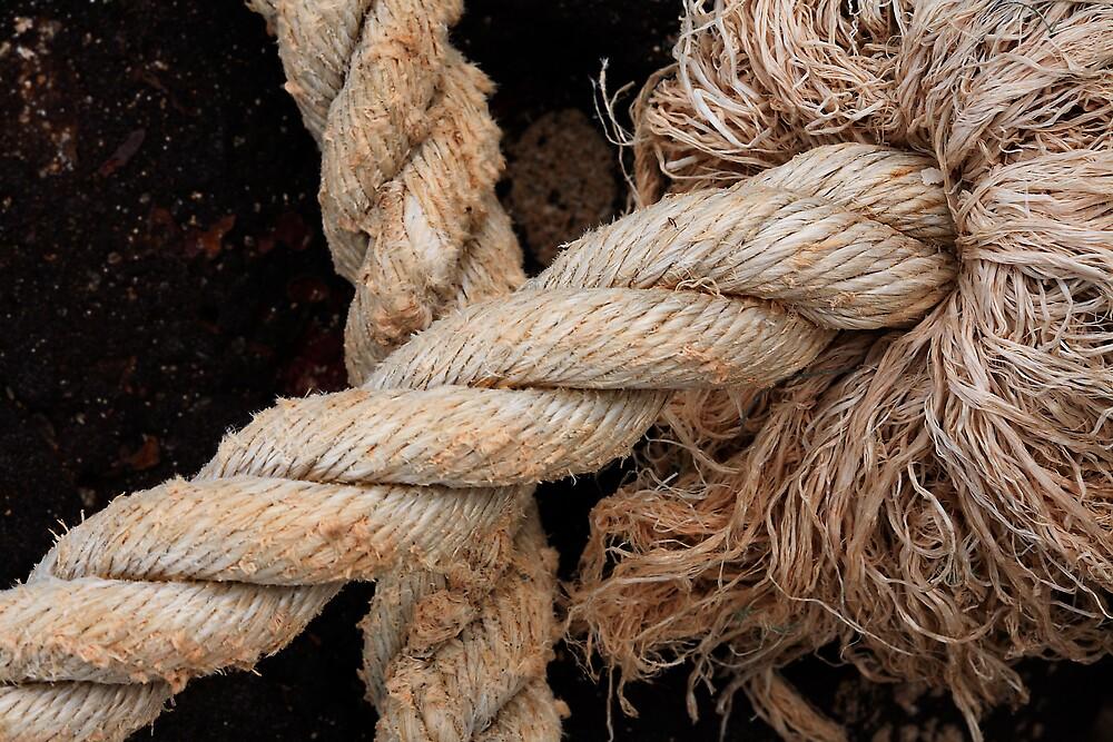 A frayed knot by Thomas Kress