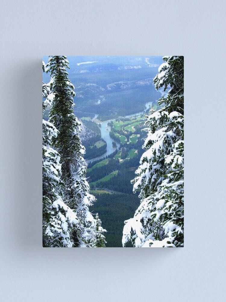 Alternate view of Banff Canvas Print