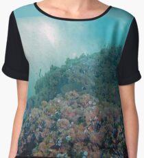 Explore a reef Chiffon Top