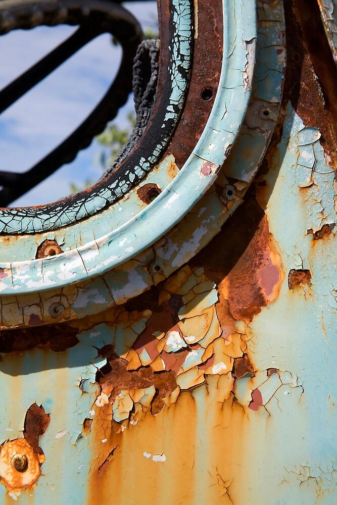 Rust on Blue by Thomas Kress