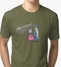 Wizard Duel Tri-blend T-Shirt