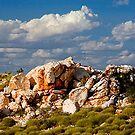 Rocks and Clouds by Thomas Kress