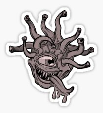 Hungry Beholder Sticker