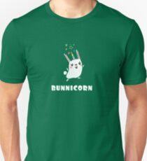 BunniCorn Unicorn Funny Bunny Rabbit Ostern niedlich einzigartige Kawaii Grafik T-Shirt Slim Fit T-Shirt