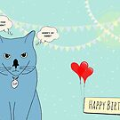 Birthday cat sup by puppaluppa