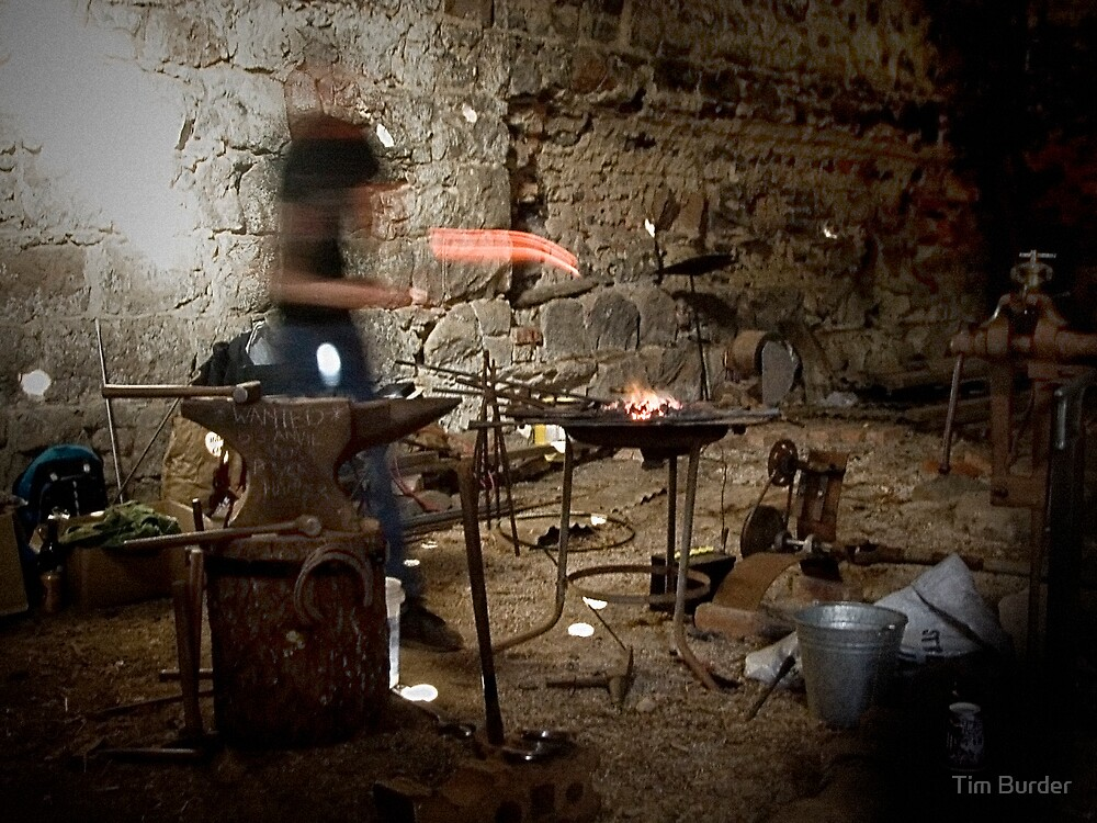 Blacksmith by Tim Burder