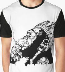 Smoking Monkey - KING Graphic T-Shirt