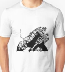 Smoking Monkey - KING Unisex T-Shirt