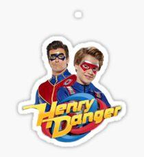 Henry Danger and Captain Man Sticker