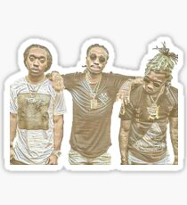 Migos Trio Sticker