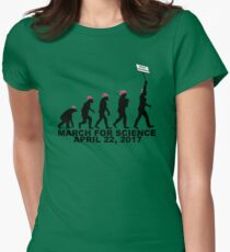March For Science (Woman) Women's Fitted T-Shirt