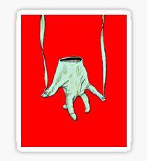 Puppet Hand Sticker