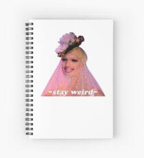 Stay Weird - Milk (Drag Queen) Spiral Notebook