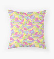 Pixel Barf Throw Pillow