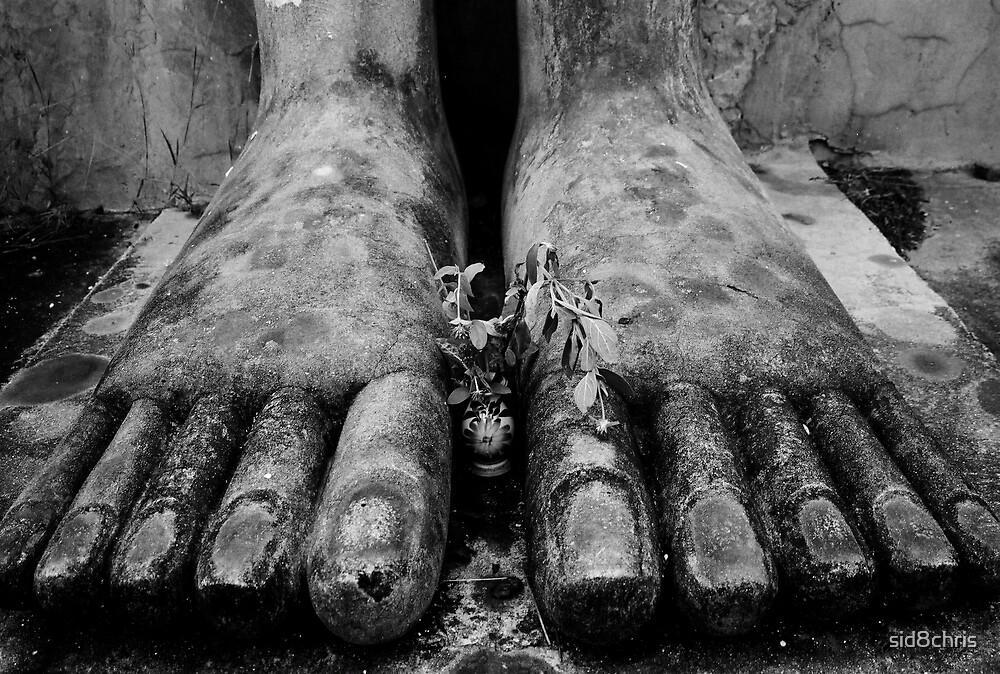 Buddha's Feet by sid8chris