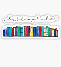 Bibliophile II Sticker