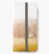 Kangaroos at sunrise iPhone Wallet/Case/Skin