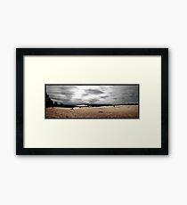 Dark Skies Framed Print