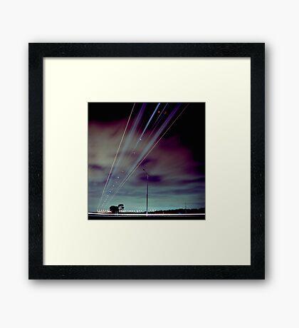 Skyroad Framed Print