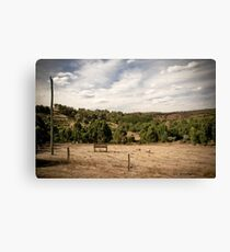 Oh, For the Country Life... Canvas Print