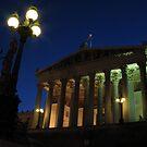 Vienna by night by David Sundstrom