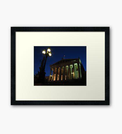 Vienna by night Framed Print
