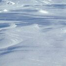 Wind Sculpted Snow by John Barratt
