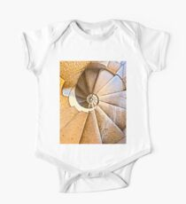 Spiral staircase in the Sagrada Familia One Piece - Short Sleeve