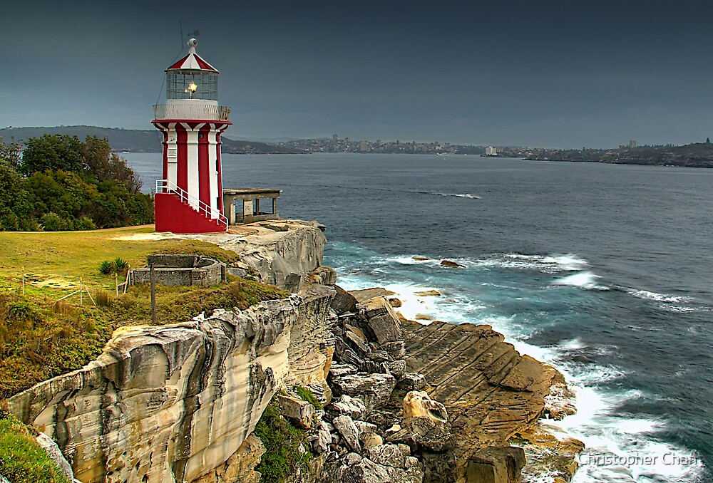 Hornby Lighthouse by Christopher Chan