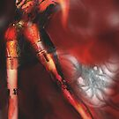 Red Skies (Digital Figure Drawing) by Grant Wilson
