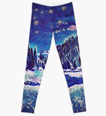 Starry Clearwater Night Leggings