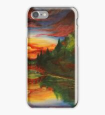 """The Gardens"" from the In The Forests Series iPhone Case/Skin"