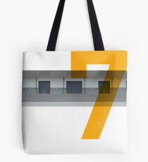 No. 7 (2) Tote Bag